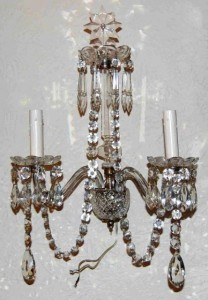 1850 Waterford sconces