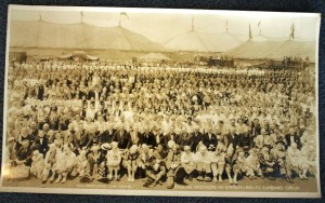 1934 Kelty photo of circus folk in New Haven