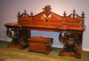 19th-century Irish sideboard