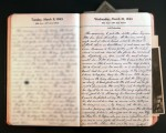 March 10, 1943 Diary Page