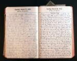 March 28, 1943 Diary Page