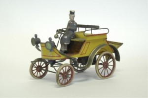 Early French car, circa 1900
