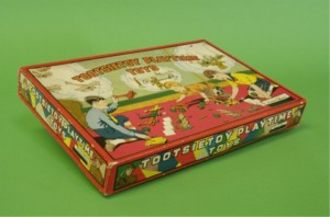 Tootsietoy boxed aerial offense set