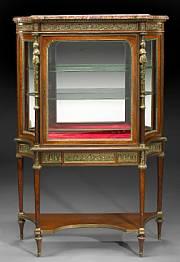 Louis XVI vitrine