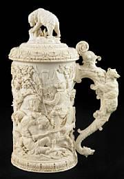 Ivory tankard