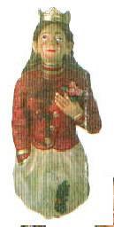Carved figurehead