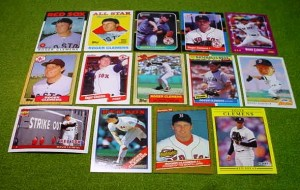 Roger Clemens Red Sox cards