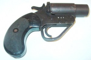 Royal Air Force flare gun