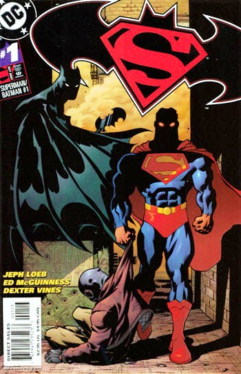 Superman Batman #1 third reprint