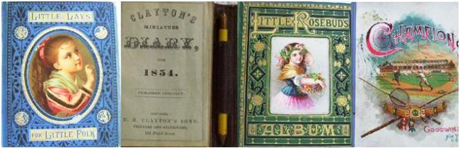 Children's Books 1854-1888 and Diary