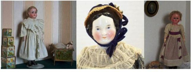 Antique Dolls, circa 1860-1900