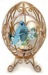 1995 Franklin Mint gazebo egg