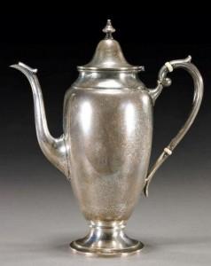 Gorham sterling pot