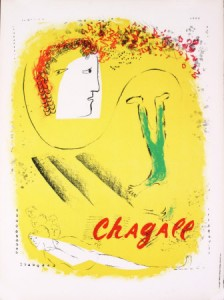 "Marc Chagall's ""The Yellow Background"""