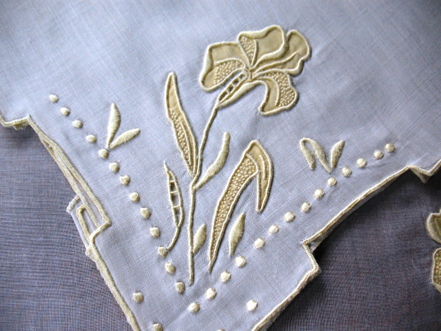Iris embroidery - TheFind