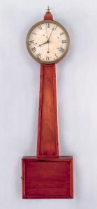 Willard regulator banjo clock