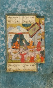 16th-century Persian miniature