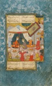 16th-century Persian miniature