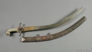 Jeweled Turkish saber