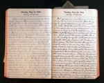 May 25, 1943 Diary Page
