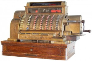 1912 Spanish National cash register