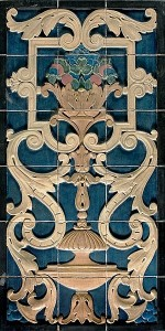 Rookwood Faience panels
