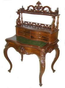 Antique Victorian American desk