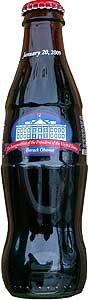 Barack Obama inauguration bottle, sealed