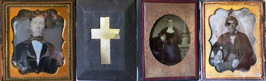 Daguerreotype and two Ambrotypes from B. L. Williams Collection Used with permission