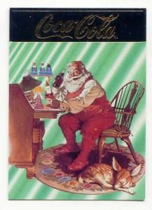Coca-Cola Santa card