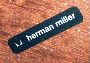 The black horizontal label was used from the 1970s into the 1990s.