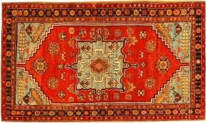 An antique Bakshaish Persian Runner Rug.