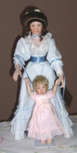 Sandra Kuck's Loving Steps china dolls