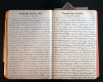 June 24, 1943 Diary Page