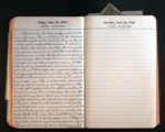 June 25, 1943 Diary Page