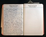 June 27, 1943 Diary Page
