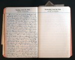 June 29, 1943 Diary Page