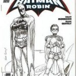 Batman and Robin 1:250 variant cover