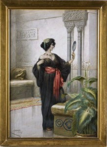 Giuseppe Aureli watercolor