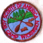 A patch from Boy Scout Camp Wichingen, issued in the 1960s.