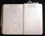 July 3, 1943 Diary Page
