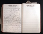 July 7, 1943 Diary Page