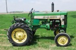 This 1971 John Deere 4620 diesel tractor with power-shift transmission brought $38,000.