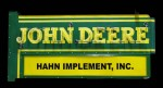After some ferocious bidding, this John Deere double-sided porcelain neon sign in excellent condition went for $8,000.
