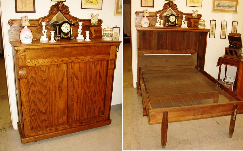 Folding beds in a cabinet : The people who inspired names of antique furniture