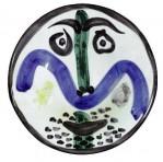 "Pablo Picasso's ""Face No. 130"""