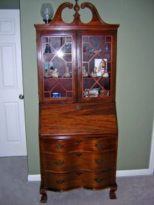 "The real name for this form is not ""Gov. Winthrop."" It is called a bookcase/secretary."