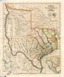 Map of Texas, done in 1843 by John Arrowsmith, showing the Republic of Texas, is estimated to sell for between $12,000 and $16,000.