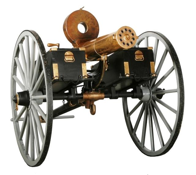 civil war machine gun