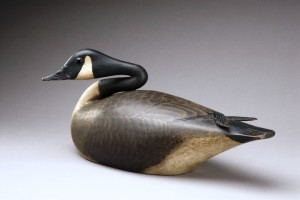 A nesting Canada goose by A. Elmer Crowell (1862-1952) sold for $661,250 at auction last month. (Photo courtesy Copley Fine Art Auctions)